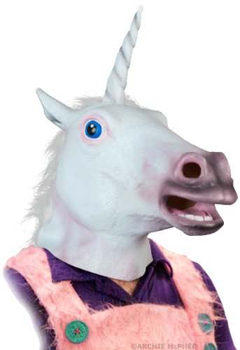 Accoutrements Magical Unicorn Mask