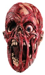 Rubie's Costume Screaming Corpse Overhead Mask, Flesh/Red , One Size